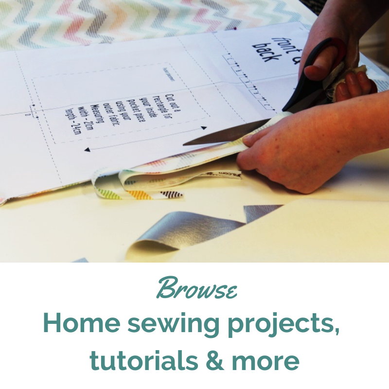 Online and home sewing with Sew In Brighton