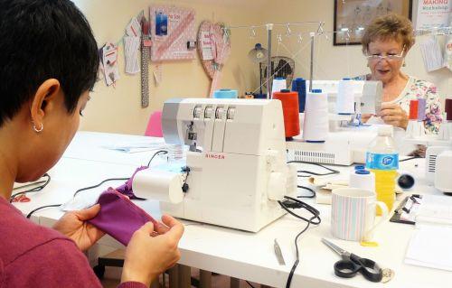 Love Your Overlocker workshop - Sew In Brighton