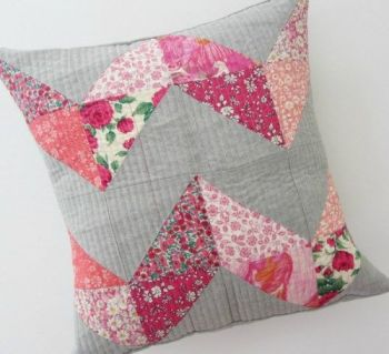 Chevron Cushion Sewing Directory - Lou Orth