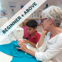 One to One Sewing & Dressmaking Lessons (online lessons also available)
