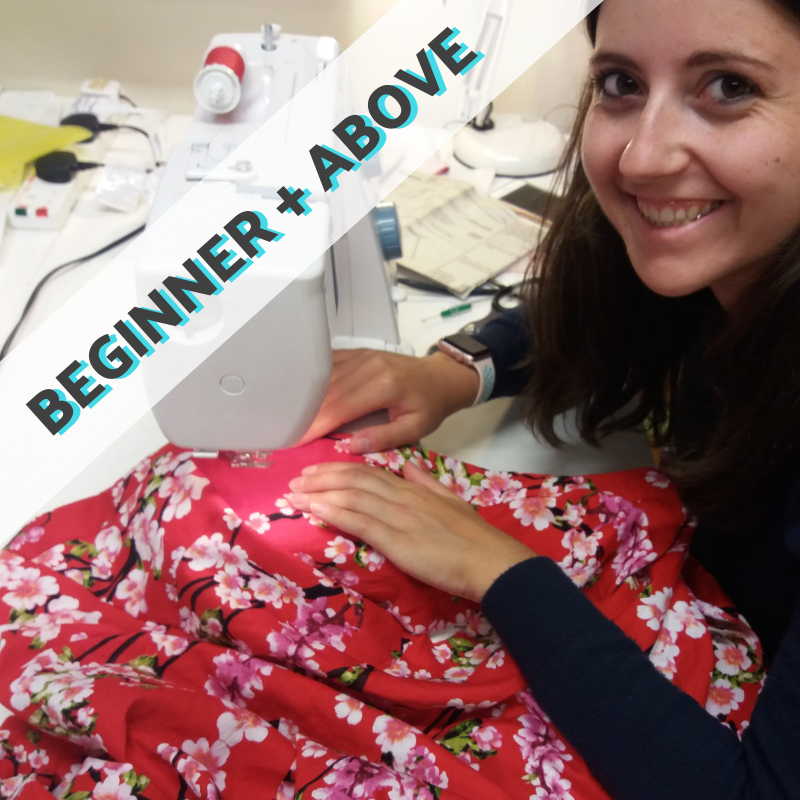'Stitch' General Sewing & Dressmaking Classes - any project