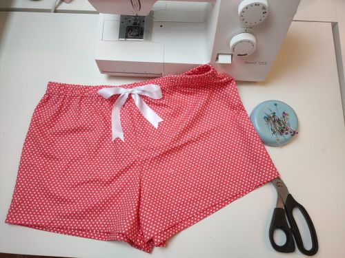 Pyjama Shorts sewing project - Sew In Brighton