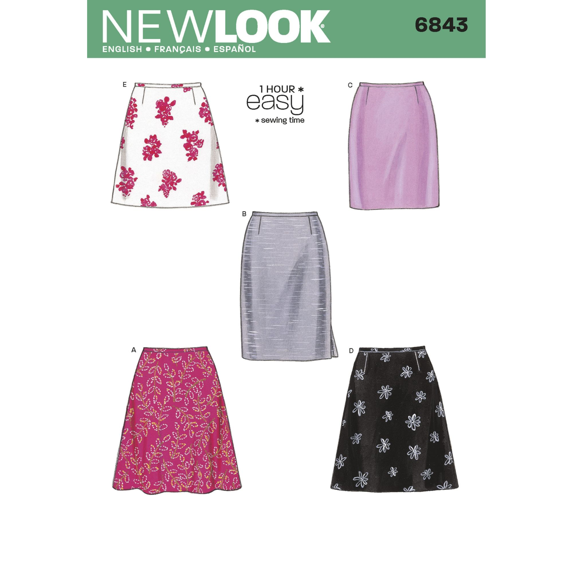 New Look 6483 sewing pattern