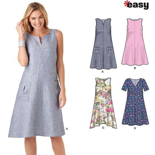new look dress pattern 6340