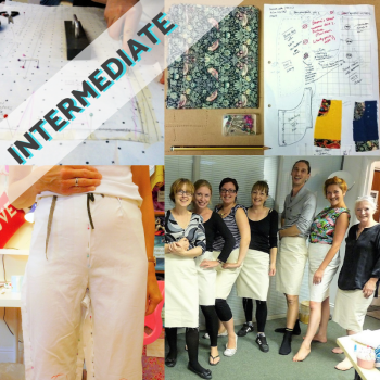 Intro to Pattern Cutting: Trouser or Skirt Block + Design Your Own Pattern (7 Week Course)