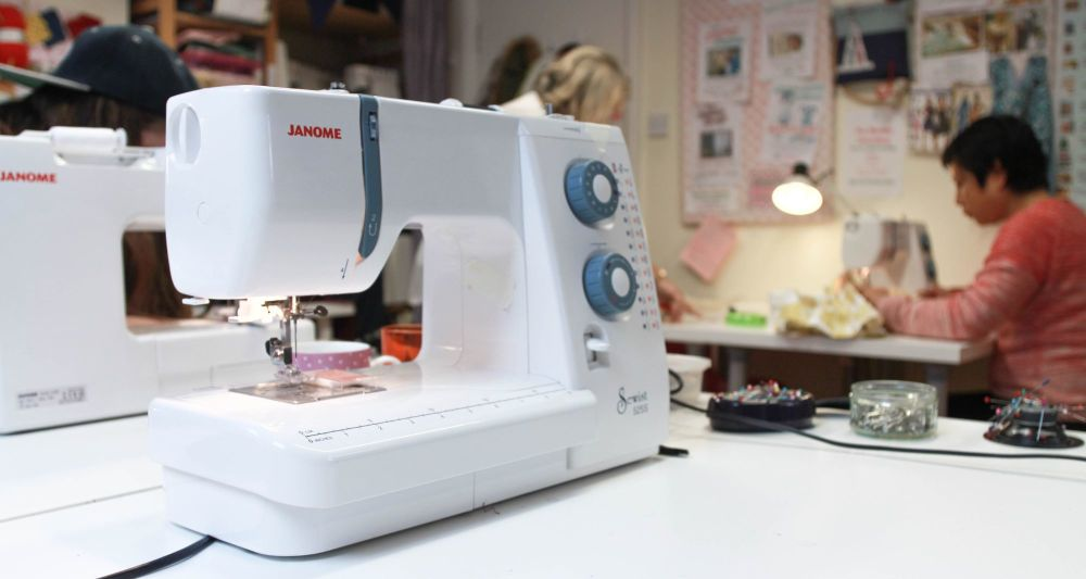 Sewing classes at Sew In Brighton