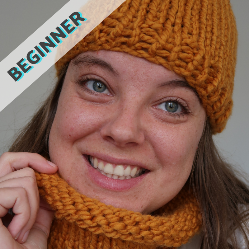 Knitting for Complete Beginners - Make a Hat or Snood