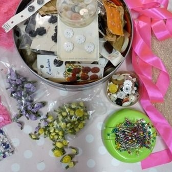 hen party - customised knicker making ingredients - june 29th 2013