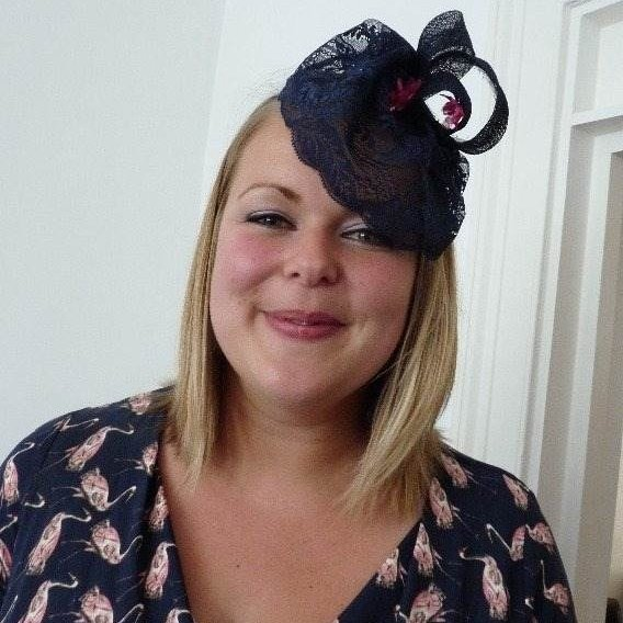Fascinator hen party 1