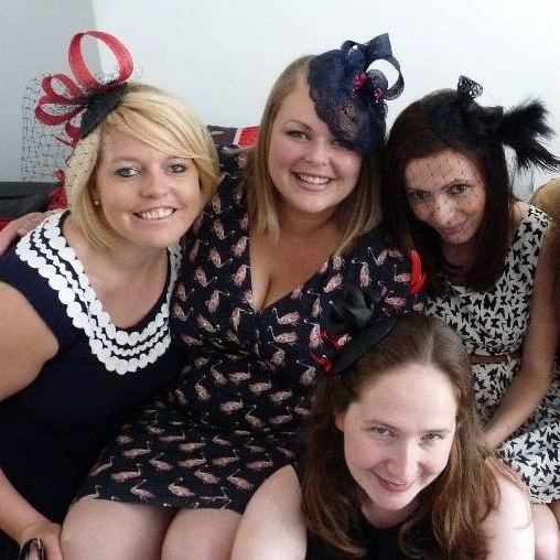 hen party fascinators brighton sussex sewing crafty craft