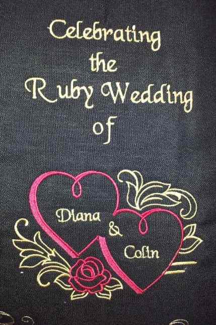 machine embroidery denise wedding emb