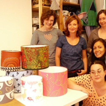 Lampshade Making Workshop Sew In Brighton Sq