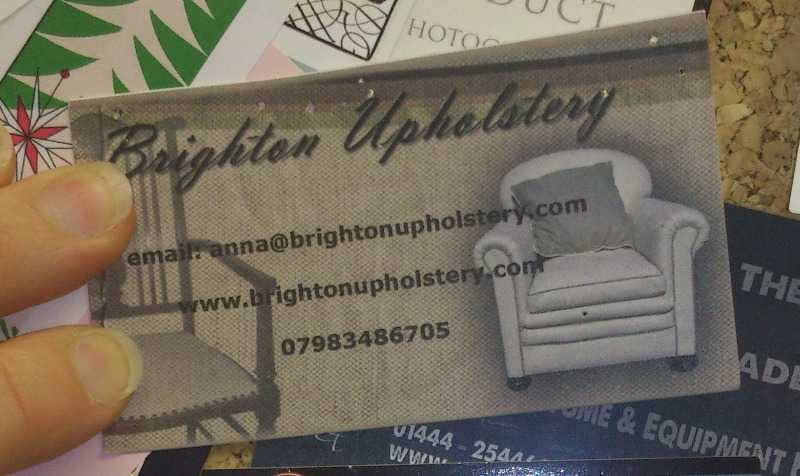 Dressmakers page - Brighton Upholstery