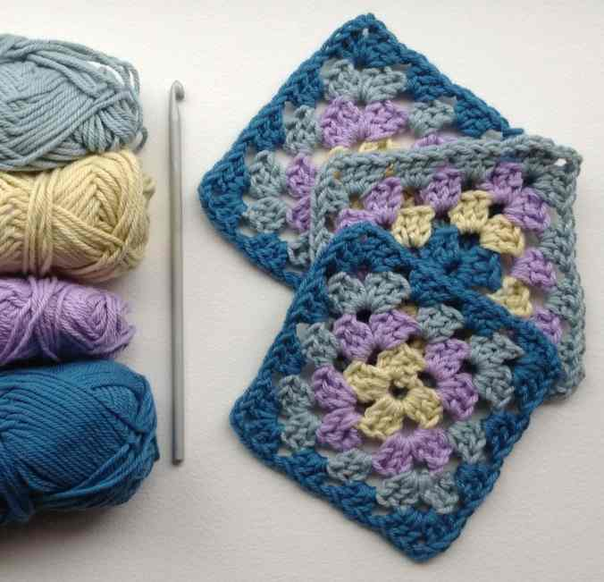 crochet squares by susan