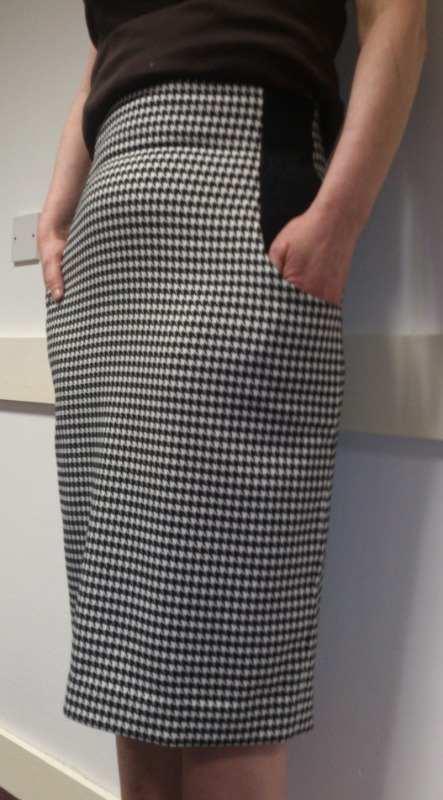 fashion design spring 2014 sarahs final skirt -