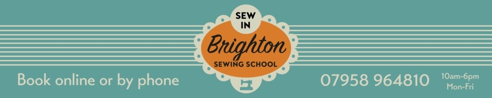 Sew In Brighton, site logo.