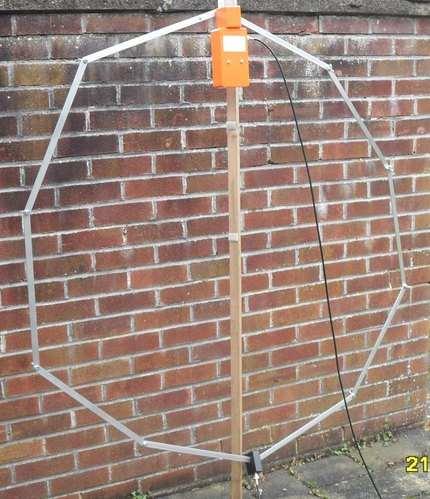 Assembled antenna