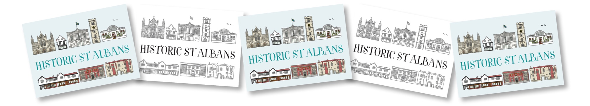 Blackbird Publishing Family Activity Trails Reward Postcards St Albans Museum & Gallery