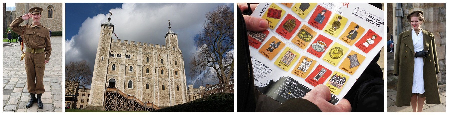 Blackbird Publishing Family Activity Trails Tower of London footer