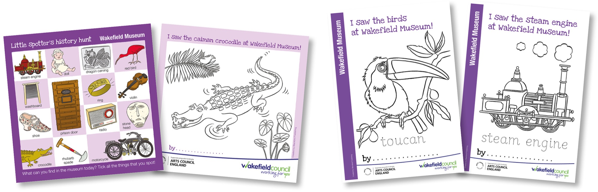 Blackbird Publishing Young Children's Spotting Activity Sheets and Colouring Sheets