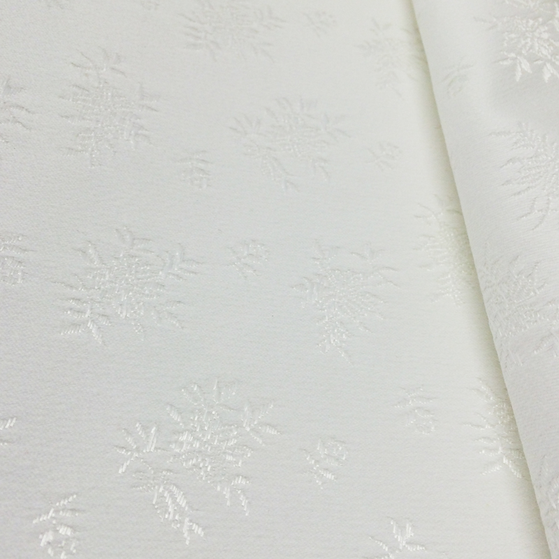 Broche boutinierre coutil - White