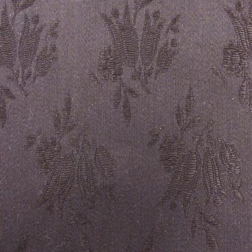 Tulip pattern coutil - Black