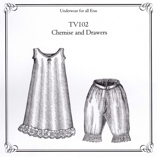 Chemise and drawers