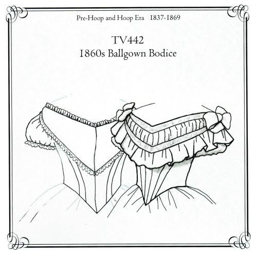 1860's Ballgown Bodice