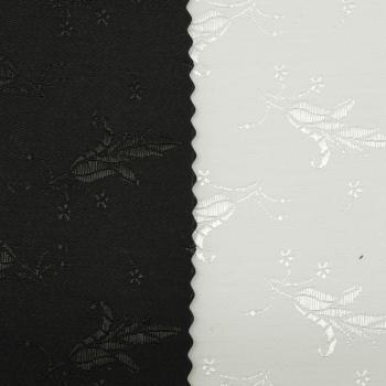 Jacquard coutil - Bellflower white