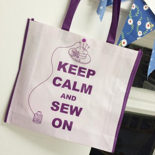 Stitchers shopper bag