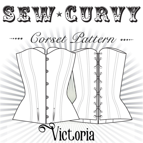 Mid Bust Victorian Corset Pattern