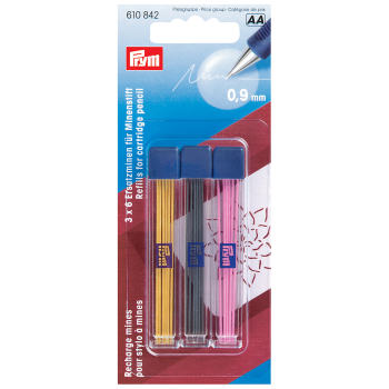 Cartridge pencil refills