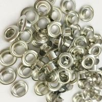 5mm silver corsetry eyelets