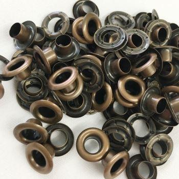 5mm bronze eyelets