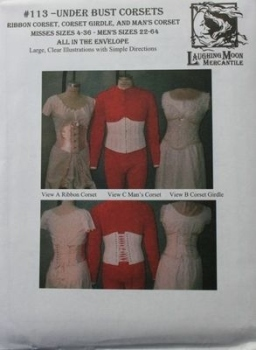 Laughing Moon Underbust Corset Pattern
