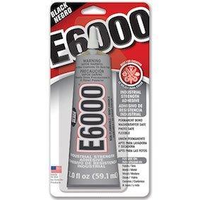 E6000 Glue Black