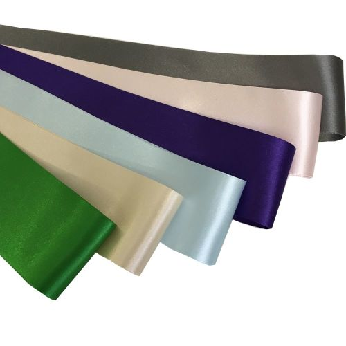 Ribbon - wide satin