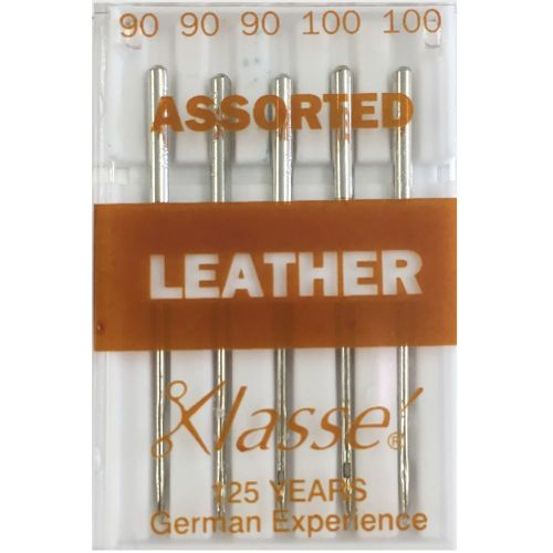 Machine needles for leather