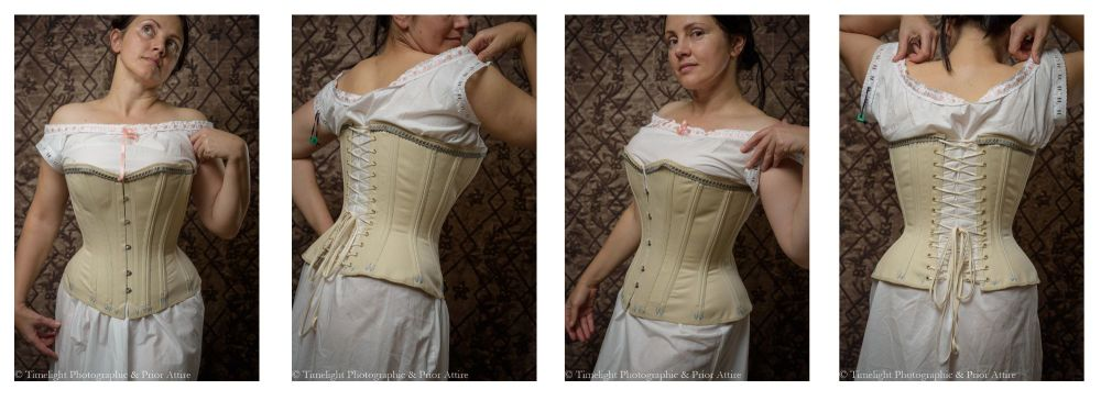 Victorian corset pattern pictures