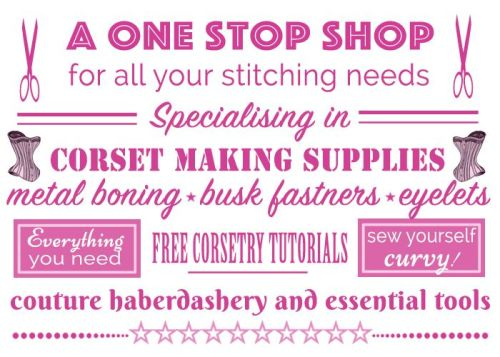 Buy corset making supplies