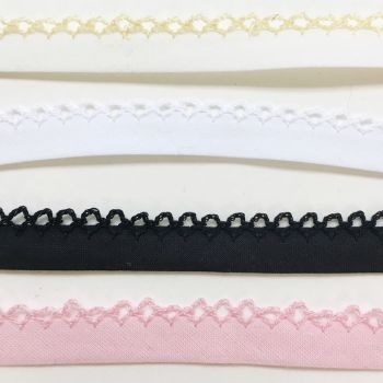 Bias binding - picot edge