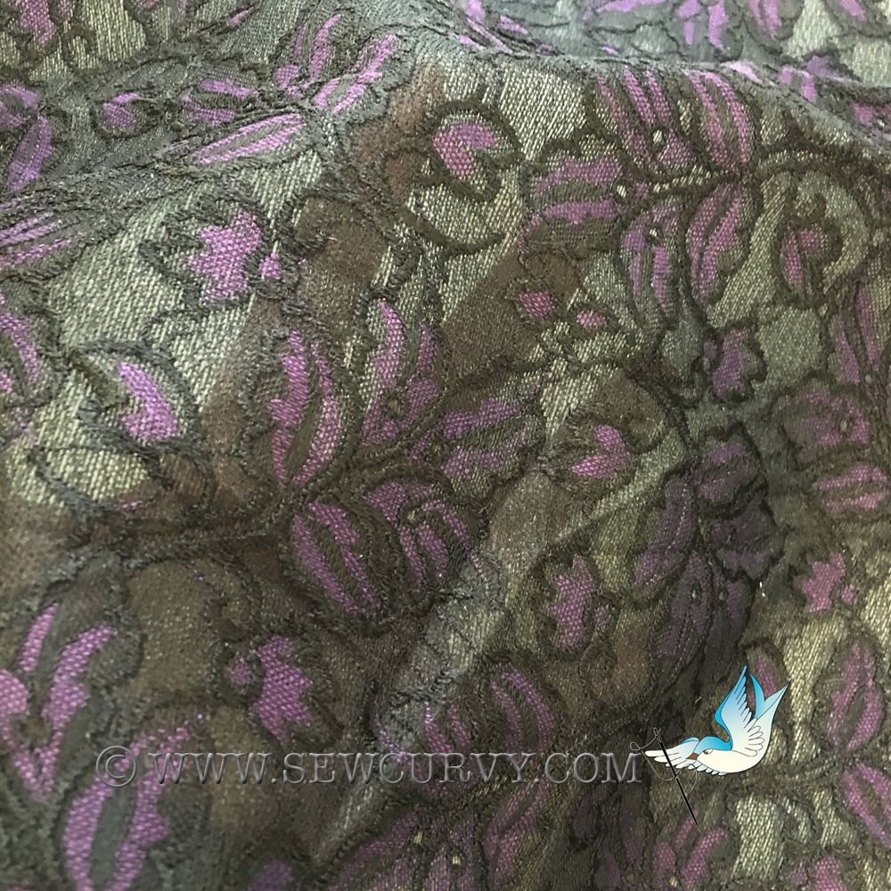 Roll End : Laminated lace fabric