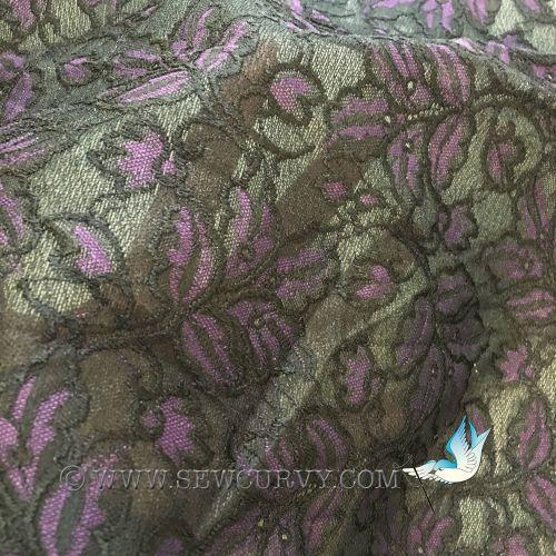 Laminated lace
