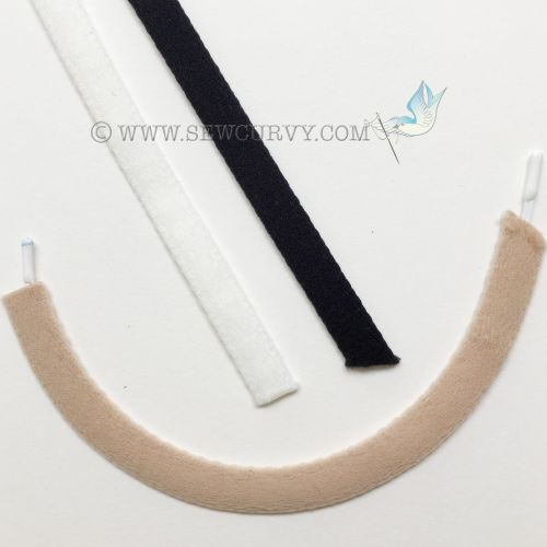 Bra wire casing