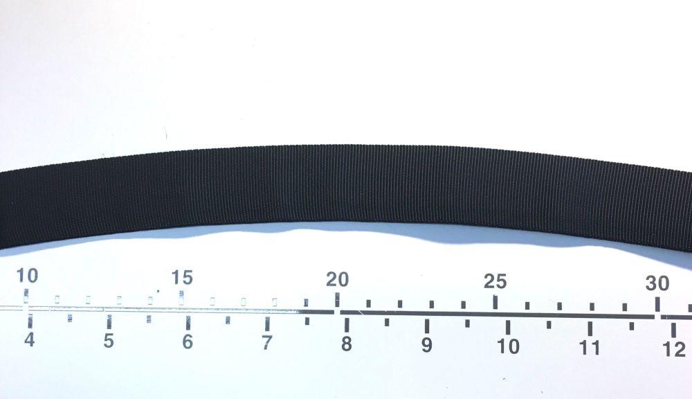 Curved Petersham tape