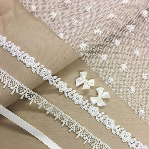 ivory net and bows