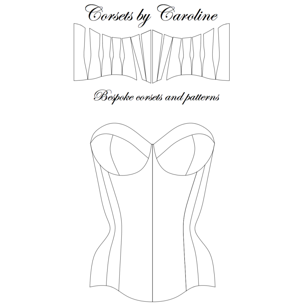 Vivienne Cupped Corset pattern
