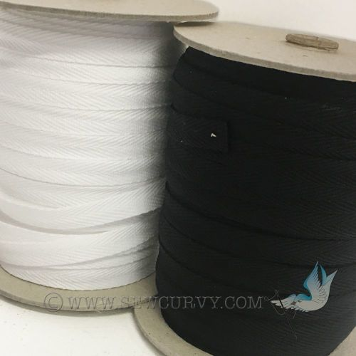 10mm twill tape 100m roll