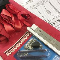 Victoria Valentine corsetry kit