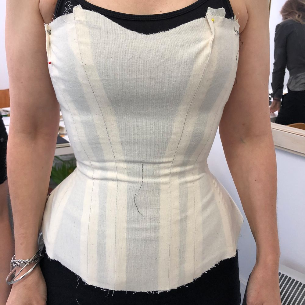 How to make a corset mock-up